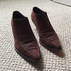 Vintage Via Spiga booties